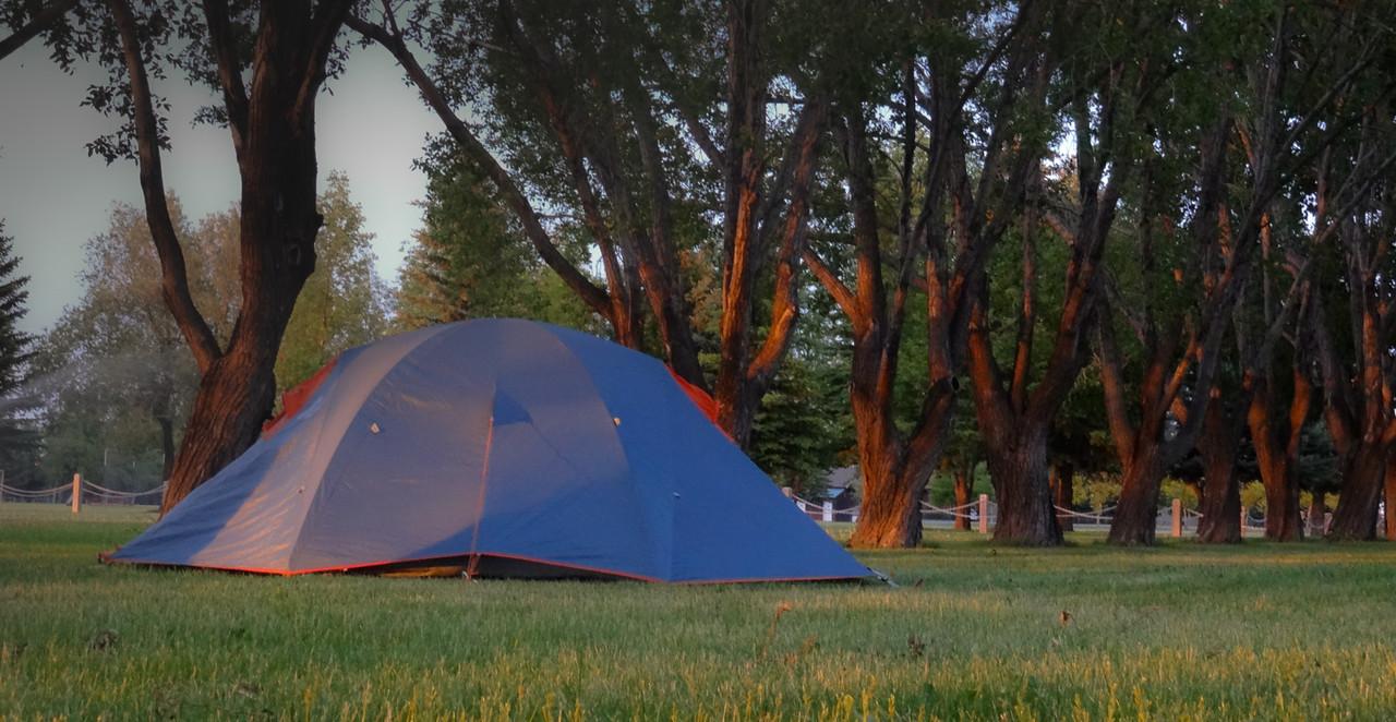 Camp in Coalhurst