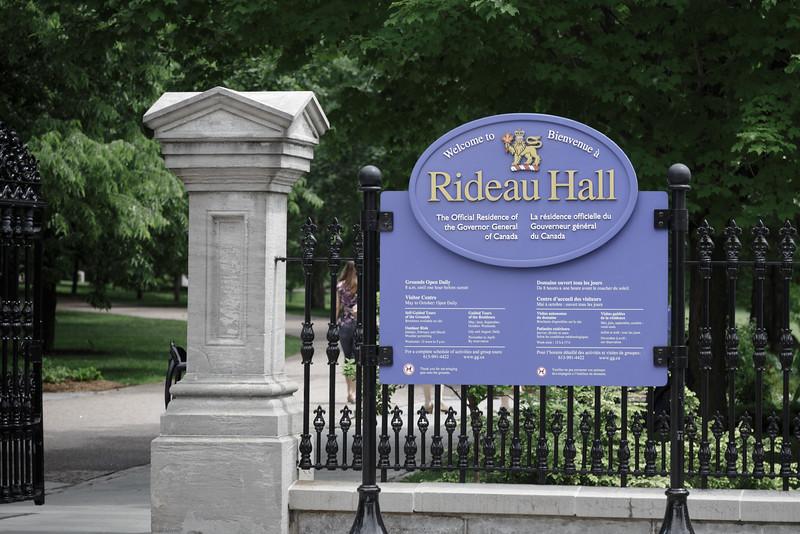Rideau Hall, Ottawa Ontario (2013)