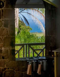 Open stone window.... classic
