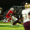 Ottumwa, Iowa September 8, 2017 -- Ottumwa High School football vs Des Moines Lincoln. Photo by Dan L. Vander Beek