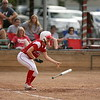 Ottumwa, IA June29, 2016--Ottumwa High School Softball vs Lincoln High School. Photo by Dan L Vander Beek/Ottumwa Courier