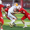 Pella, Iowa September 21, 2018 - Ottumwa High School football vs Indianola. Photo by Dan L. Vander Beek