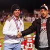 Ottumwa, IA-- October 17, 2014<br /> Ottumwa high school football vs Burlington. <br /> Courier photo by Dan L. Vander Beek