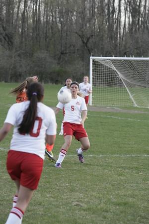 OHS Girls Varsity Soccer Game 04142015