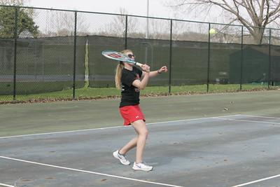 OHS Girls Varsity Tennis Match 04142015
