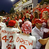 Ottumwa, IA-- September 26, 2014<br /> Ottumwa high school football vs Iowa City. <br /> Courier photo by Dan L. Vander Beek
