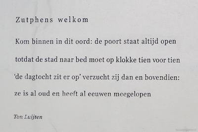 Zutphens welkom, Ton Luijten