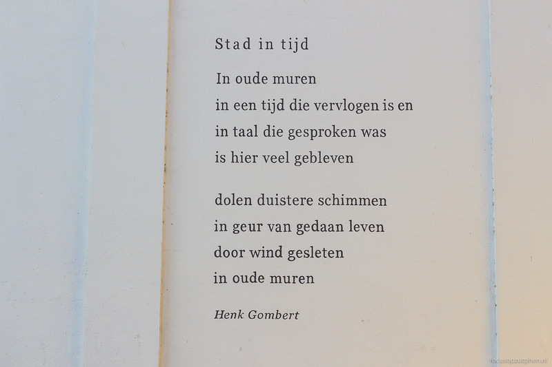Stad in de tijd, Henk Gombert