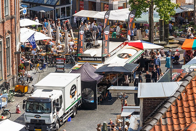 Houtmarkt en Sprongstraat
