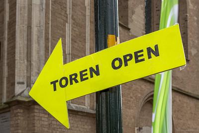 Toren open