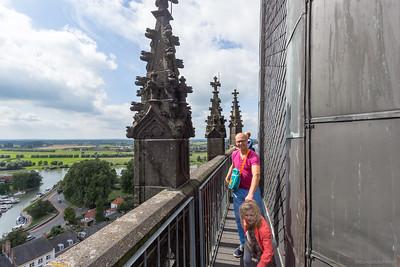 Kantelen van de toren