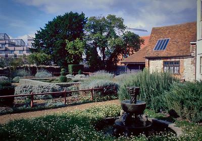 Southampton Tudor House Garden