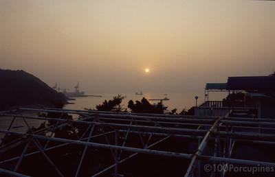 Lamma Island Po Wah Yuen Sunset