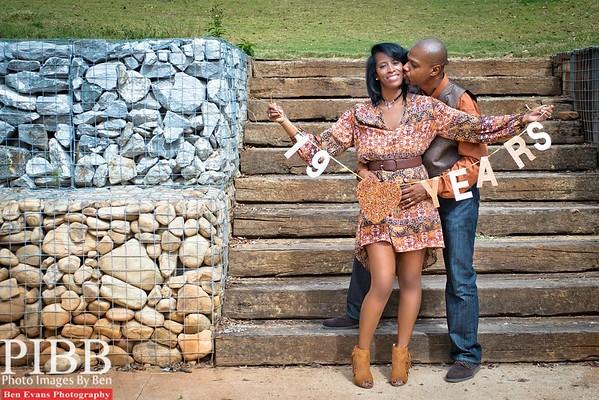 Ben & Monique's 19th Wedding Anniversary Photo & Videoshoot