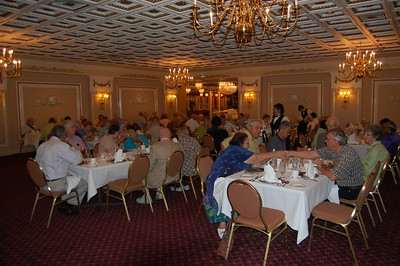 Retirees enjoy Boys of Syracuse at the Drury Lane