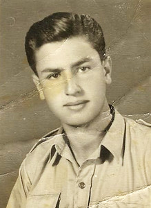 Hatem Muhtaseb in Al-Khaleel in 1955