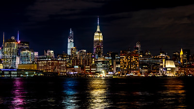 Empire State Building at Nightfall