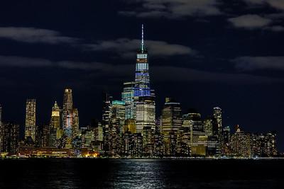 World Trade Center at Nightfall