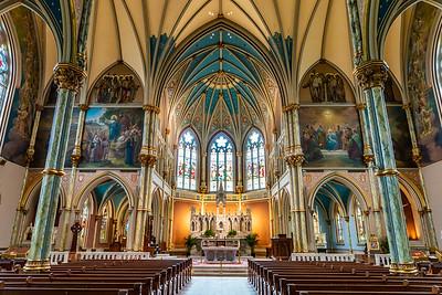 The Cathedral Basilica of St. John the Baptist in Savannah, GA