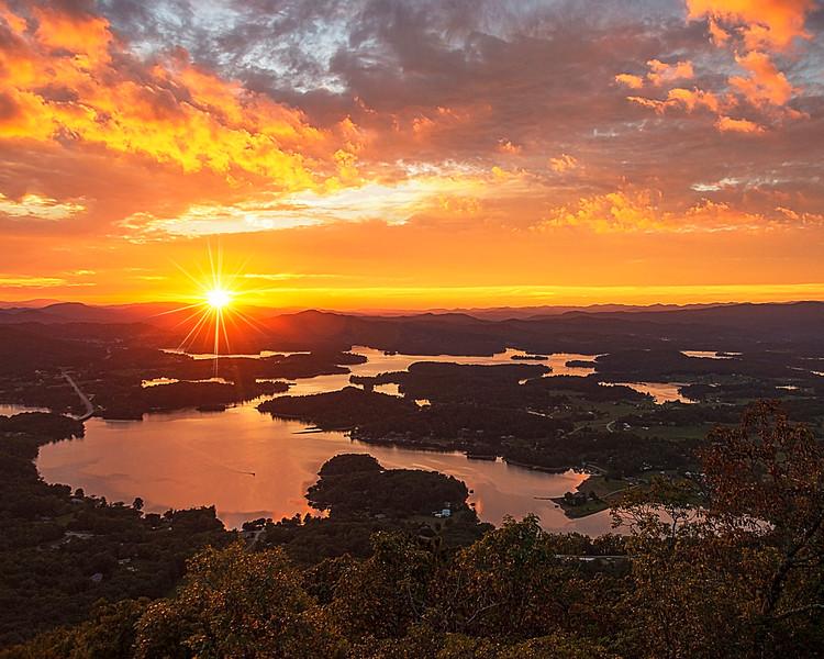 """Bell Mountain Sunset"""