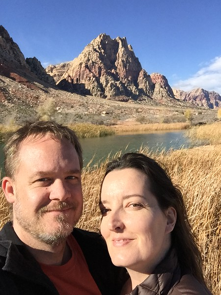 Us at Spring Mountain Ranch State Park just outside Las Vegas, NV.