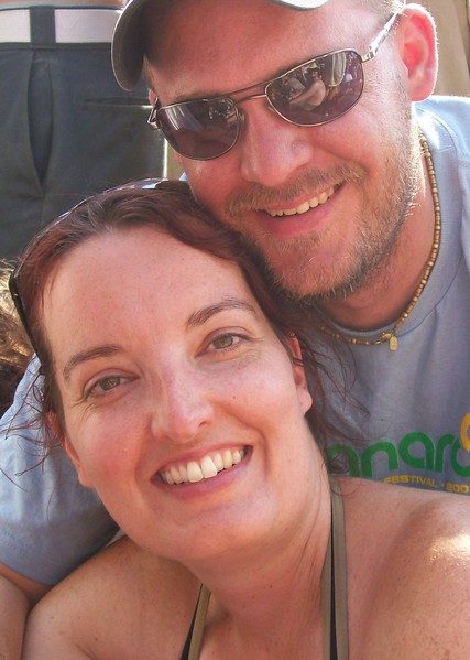 Us at Bonnaroo in 2007