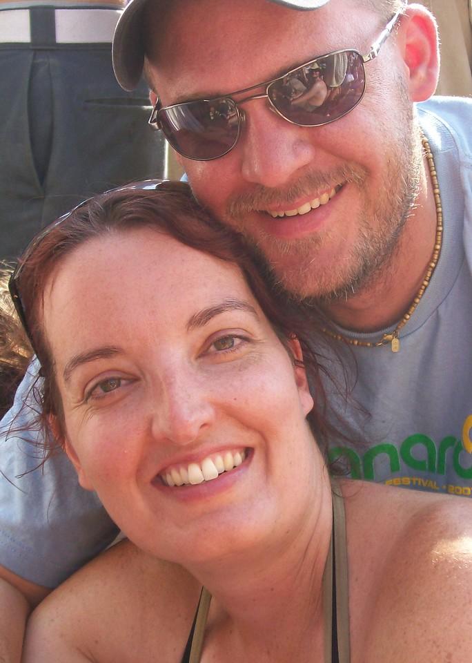 Us at Bonnaroo in 2007