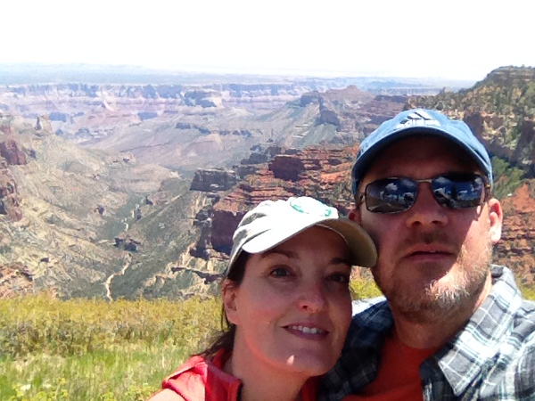 Us at the Grand Canyon