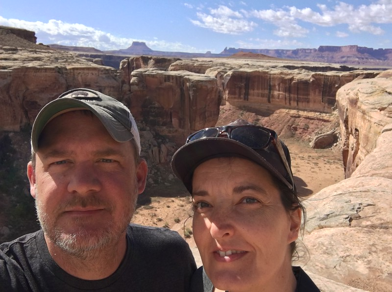 Us on the White Rim Road in 2017.