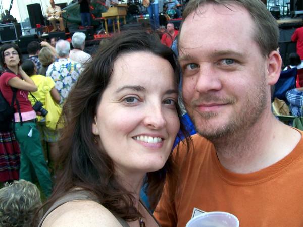 Us at July 4th festivities in Louisville, Kentucky in 2008.