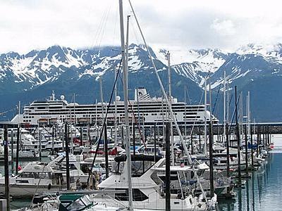 Beautiful Harbor in Alaska