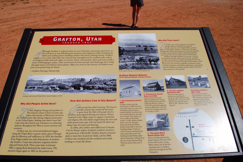 "A small Mormon settlement in southern Utah. That persevered through floods and numerous other hardships from 1859 to 1945. It was the site of the first Western movie to be filmed outdoors, ""The Old Arizona"" in 1929 since then several other westerns have been filmed here. The list includes; The Arizona Kid, Ramrod, Butch Cassidy and the Sundance Kid, Child Bride of Short Creek, and The Red Fury."