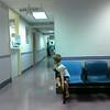 Waiting to take X-rays