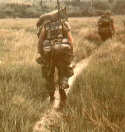1st marines on patrol...1967