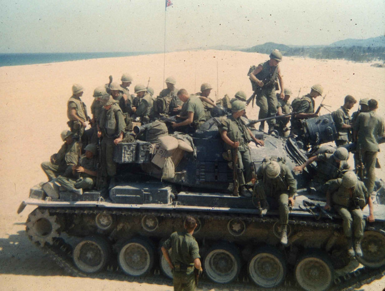 Just another day at the beach-1st Marines Chu Lai