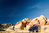 Big Red Rocks as a Back Drop - Nevada - Photo by Pat Bonish