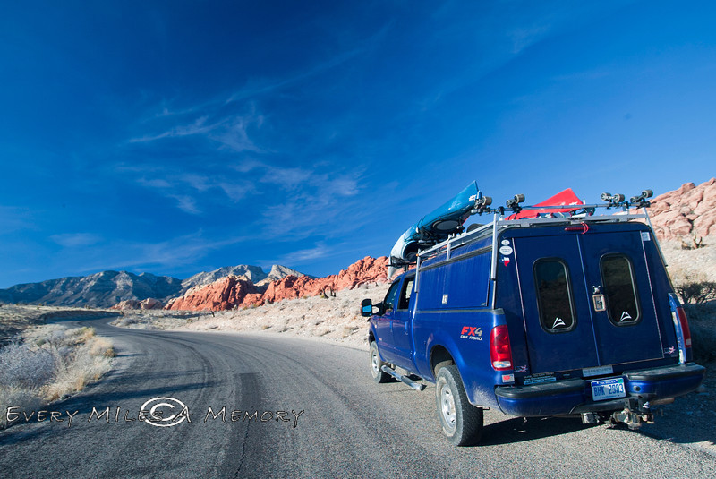 Red Rock Desert Nevada - Photo by Pat Bonish