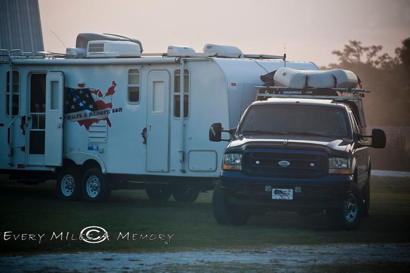 Early Morning Dusk on the Farm - Okeechobee Florida - Photo by Pat Bonish