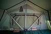 Inside of the Roof Top Tent, Thick, Strong Aluminum Poles