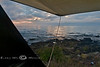 Not a Bad View to Wake up to - Lake Superior as Seen out of our Camping Lab Roof Top Tent - Photo by Pat Bonish