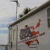 Every Miles A Memory Travel Trailer with the Wind Turbine Mast Erected