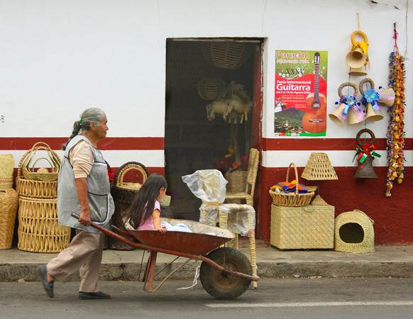 Riding in the Wheelbarrow