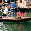 Children Rowing a Boat