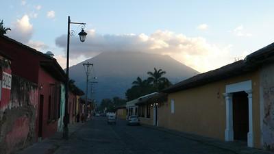 Volcan Agua over Antigua