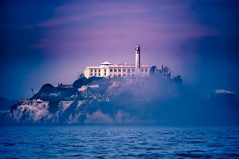 Alcatraz in the Morning Fog - March 10, 2018 - Editorial