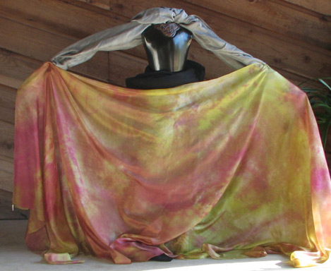"5H-45108-VERN  45""x108"" 5mm Habotai Standard Silk Veil: Vernal Spring Blend  Check out our <a href=""http://mivasecure.abac.com/fairycove/merchant.mvc?Screen=PROD&Store_Code=FCS&Product_Code=5H-45108-VERN&Category_Code="">website</a> for pricing!"
