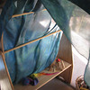 """8H-54108-WATR  54""""x108"""" 8mm Habotai Extra Large Jumbo Silk Play Canopy: Water  Check out our <a href=""""http://mivasecure.abac.com/fairycove/merchant.mvc?Screen=PROD&Store_Code=FCS&Product_Code=8HC-54108-WATR&Category_Code="""">website</a> for pricing!"""