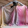 """5H-45108-MERMP<br /> <br /> 45""""x108"""" 5mm Habotai Standard Silk Veil: Mermaiden Pink"""