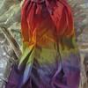 CP-M-RAIN<br /> <br /> Medium Child's Silk Cape: Classice Rainbow<br /> <br /> Check out our