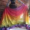 """8H-54108-RAIN  54""""x108"""" 8mm Habotai Heavier Extra Large Veil: Classic Rainbow  Check out our <a href=""""http://mivasecure.abac.com/fairycove/merchant.mvc?Screen=PROD&Store_Code=FCS&Product_Code=8H-54108-RAIN&Category_Code="""">website</a> for pricing!"""